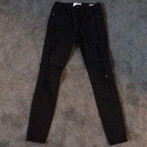 Frame Black Denim Jeans